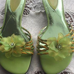 Liz Claiborne slip on sandal